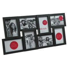 lifestyle brands gallery frame with 8 4x6 openings black