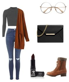 """""""Untitled #56"""" by lordengrant ❤ liked on Polyvore featuring Topshop, Charlotte Russe, Manic Panic, MICHAEL Michael Kors, women's clothing, women, female, woman, misses and juniors"""