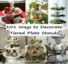 Tiered Plate Stands