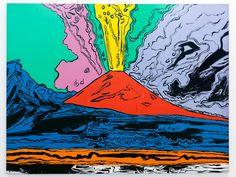 Andy Warhol | Vesuvius, 1985 (Napoli, Museo di Capodimonte)