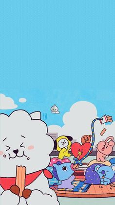 BT21 LOCKSCREEN ♡ Iphone Wallpaper Vsco, Galaxy Wallpaper, Bts Wallpaper, Minions Funny Images, Minions Quotes, Funny Minion, Funny Jokes, Character Wallpaper, Bts Pictures