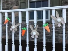Carrot and Bunny Garland