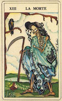 菲尔比斯塔罗牌 - Fiabeschi Tarot - 死神 - Death