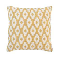 Throw Cushion Sal. Yellow, $35, now featured on Fab.