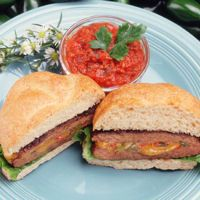 Texas Beef Council - Recipe Book - Burgers - Stuffed Jalapeno Burgers