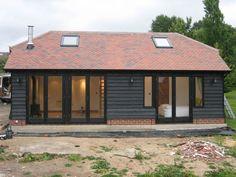 Landscape Architecture Design Plan Style Ideas For 2019 House Cladding, Exterior Cladding, Shed Plans, House Plans, Barn Conversion Exterior, Building Design, Building A House, Bungalow Extensions, Shed Decor