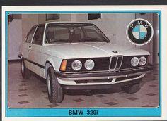 Panini Super Auto 1977 Sticker - No 65 - Vintage Car - BMW 320i | eBay