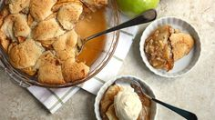 Blogger Jocelyn Delk Adams shares a simple apple cobbler with an irresistible cookie topping.