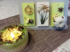 Wax tablet Wax Tablet, Candels, Something New, Candle Wax, Handmade Crafts, Candle Holders, Gift Ideas, Gifts, Beauty