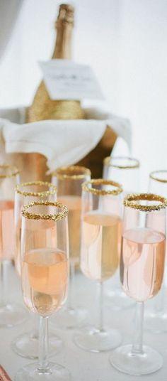 Champagne sugar glitter ohgoodiedesigns