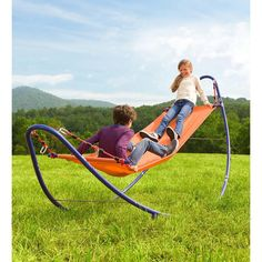Outdoor Toys For Kids, Outdoor Fun, Outdoor Decor, Outdoor Swings, Playhouse Outdoor, Outdoor Stuff, Outdoor Games, Outdoor Seating, Hammock Chair Stand