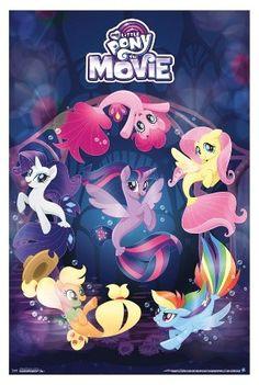 Trends International My Little Pony Movie Underwater Poster 34x22