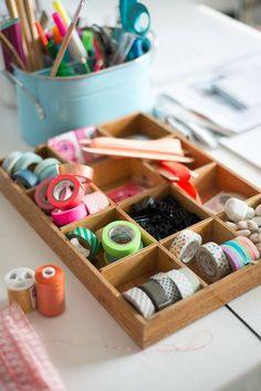 Art supplies management - craft room