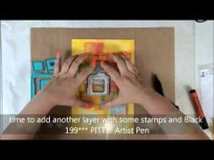 Gelatos Tutorial for Faber Castell Design Memory Craft Guest Design Team - YouTube