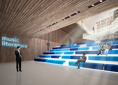 The library in Petrozavodsk, Karelia. on Behance