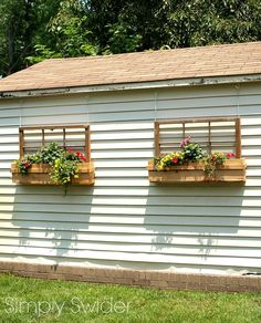 A New Upcycle Idea for Old Windows!