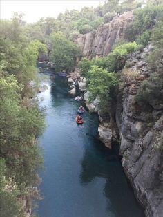 Manavgat kanyon