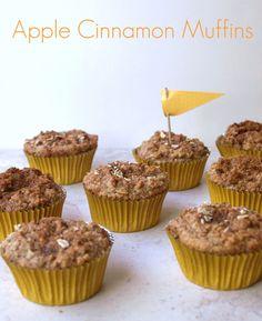 THE SIMPLE VEGANISTA: Apple Cinnamon Muffins (Gluten Free)