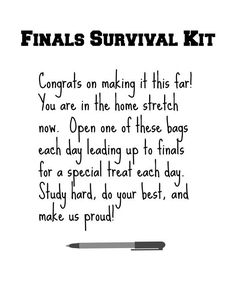 I love this gift idea, it is a perfect college care package for your student
