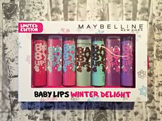 Maybelline Baby Lips Winter Delight Set