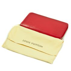 The RED LV Epi Leather Zippy Wallet... now vintage!