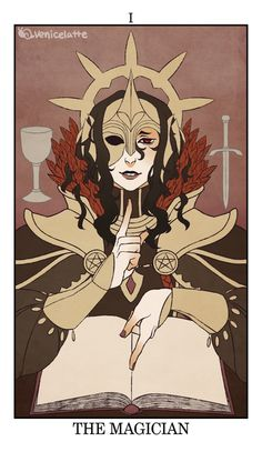For more cards, check my fire emblem tarot tag. (on tumblr) I spent some time deliberating whether Iago or Leo should be represented on the Magician card. I ended up going with Iago, partially beca...