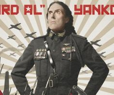 """Weird al released the music ideo for """"Tacky"""" which is a parody of """"happy'' it's awesome!"""