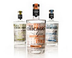 Old Chicago Gin Package Design
