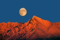 Full moon over Krivan Peak by Martin Sprušanský - Photo 130451857 - Moon Magic, Stars And Moon, Full Moon, Celestial, Beauty, The Moon, Harvest Moon, Beauty Illustration