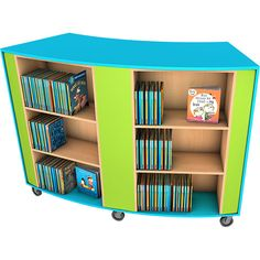 This double unit is part of a range of shapely book shelving that will give your library a unique feel and loads of flexibility. Bookshelves, Bookcase, Book Storage, Shelving, Flexibility, Environment, Classroom, Layout, The Unit