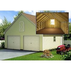 build your own car garage plans with loft diy backyard shed building 24 - How To Build A Garage