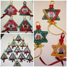 Bloguefólio Preschool Christmas, Christmas Activities, Christmas Crafts For Kids, Diy Christmas Ornaments, Christmas Baby, Christmas Time, Kids Crafts, Summer Crafts For Kids, Crafts For Girls
