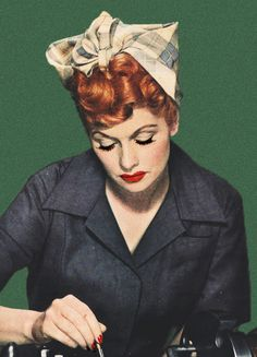 Lucille Ball - i love lucy I Love Lucy, Love Her, Lucille Ball, Looks Vintage, Vintage Ads, Vintage Magazines, Vintage Style, Vintage Beauty, Classic Hollywood