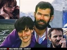 Jan Hall and Rob Hall are portrayed by Keira Knightley and Jason Clarke in the 2015 Mount Everest movie. See more Everest pics here: http://www.historyvshollywood.com/reelfaces/everest/
