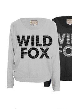 Wildfox Couture Sequin Wildfox Sweater in Diamond