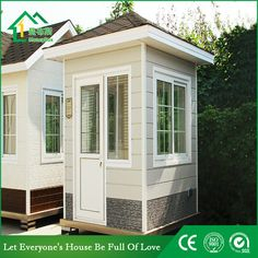 Guard house WhatsApp: +8618620106756 Steel Structure Buildings, Guard House, Portable Toilet, Prefab Homes, Tiny House, Outdoor Structures, House Design, Room, Prefab Cottages