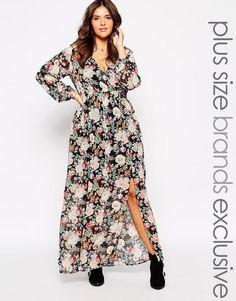 Plus Size Maxi Dress #plussizefashion