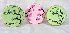Chinoserie, Chinese theme cookies, cherry blossom cookie