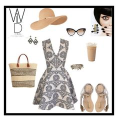 """""""Untitled #7656"""" by erinlindsay83 ❤ liked on Polyvore featuring Joana Almagro, L*Space, Eugenia Kim, San Diego Hat Co., Cutler and Gross and Aéropostale"""
