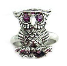My vintage Sarah Coventry owl ring