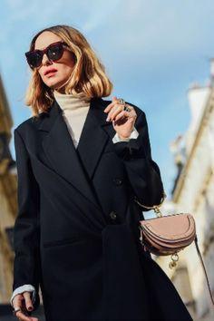 Chloe Street Style. Candela Novembre. Chloe Nile Handbag.