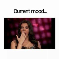 Current mood...