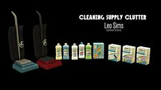 CLEANING CLUTTER at Leo Sims • Sims 4 Updates