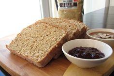 100% Whole Grain Bread (8-Grain Whole Wheat Bread Recipe) #dairy-free