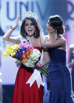 """""""Navarrete became the second consecutive winner from Jalisco, following Karla Carrillo, the outgoing titleholder and a close friend who encouraged her to participate in the pageant."""""""