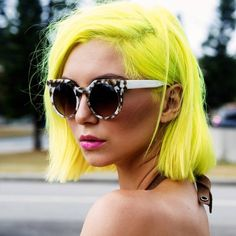 Studio Black Cottesloe used Manic Panic's Electric Banana and Pastelizer to…