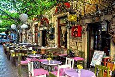 uno dei distretti di Aegean in Turchia/İzmir-Foça