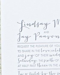 Lindsay + Jay's Whimsical Nature-Inspired Wedding Invitations