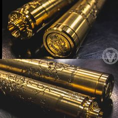 """One Stands Alone... We originally had the only two Executioner """"Hagermann Edition"""" 26650 Stacked Mech Mods by Purge Mods left in retail existence, until we sold 1 yesterday at EVCigarettes.com Now, there can be only one.. Are you the Vape Collector that will take claim of the last Executioner, to wield one of Purge Mods rarest Mods in Serial Number 041 at that?"""