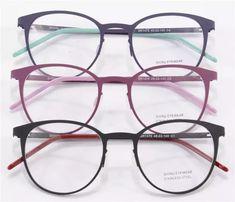 Best Selling Round Glasses Frame Women Men Eye Glasses Optical Frames Eyewear Plain Clear Lens Oculos De Grau Feminino - *About style & accessories* - Cute Glasses Frames, Womens Glasses Frames, Fake Glasses, Specs Frames Women, Sunglasses For Your Face Shape, Round Lens Sunglasses, Cute Sunglasses, Round Eyeglasses, Men's Optical